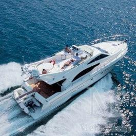 Ferreti 53 Power boatfor hire in Ibiza