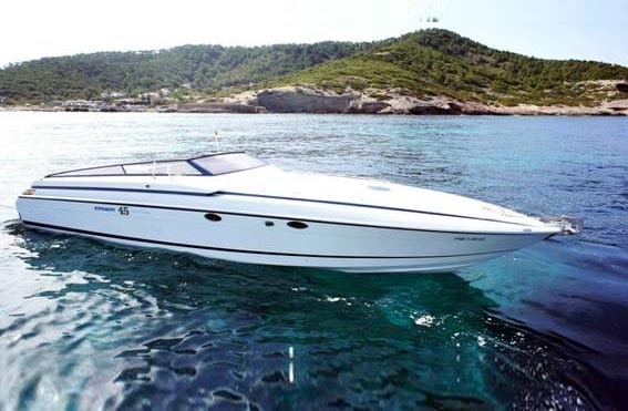 Cherokee 45for hire in Ibiza