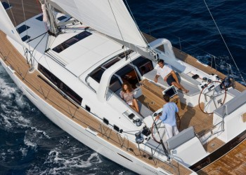 Beneteau Oceanis 58 for hire in Ibiza
