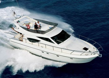 Ferretti 460for hire in Ibiza