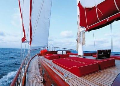 Goleta Deluxe 24 meters for hire in Ibiza