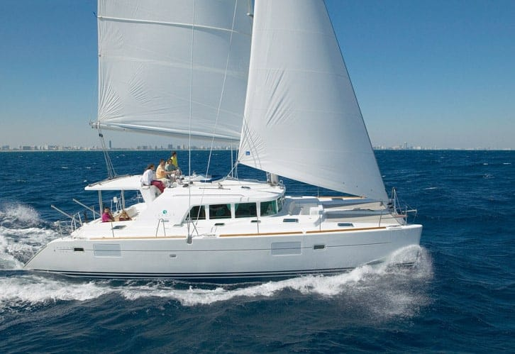 Lagoon 440 Catamaran for rent in Ibiza