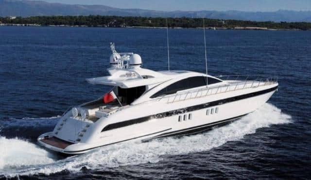 Mangusta 80 Yachtfor hire in Ibiza