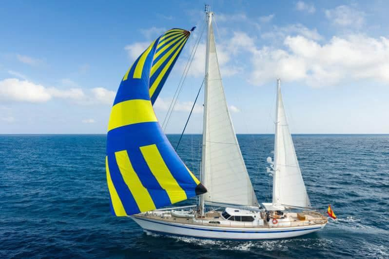 Luxury sailboat 30 meters for hire in Ibiza