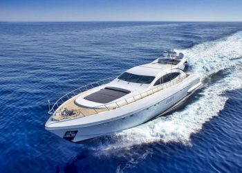 Mangusta 108 for hire in Ibiza