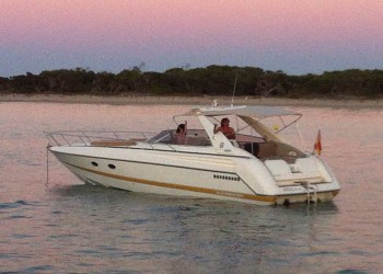 Sunseeker T 41for hire in Ibiza