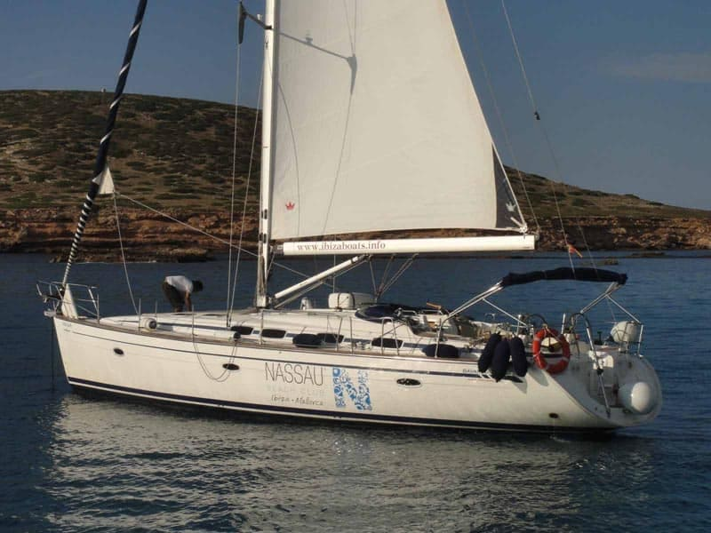 sailboat for rent in Ibiza Bavaria 46