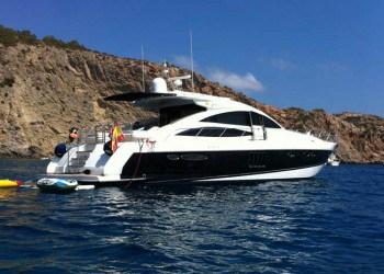 Princess V70 Yachtfor hire in Ibiza