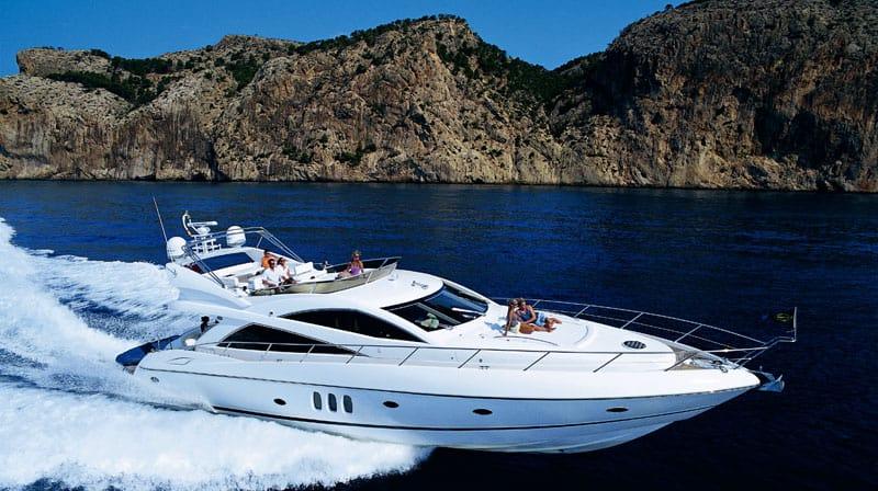 Sunseeker Mtan 66 Yachtfor hire in Ibiza