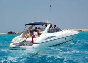 Sunseeker S 48for hire in Ibiza