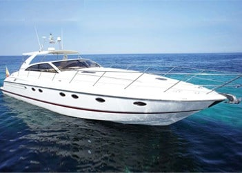 Princess V55 Power Boatfor hire in Ibiza