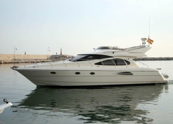 Astondoa 46for hire in Ibiza