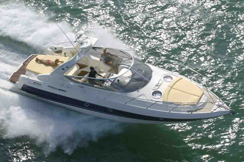Cranchi Endurance 41for hire in Ibiza