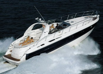 Cranchi Mediterranee 50for hire in Ibiza