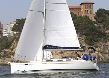Sailboat Dufour 365 for hire in Ibiza
