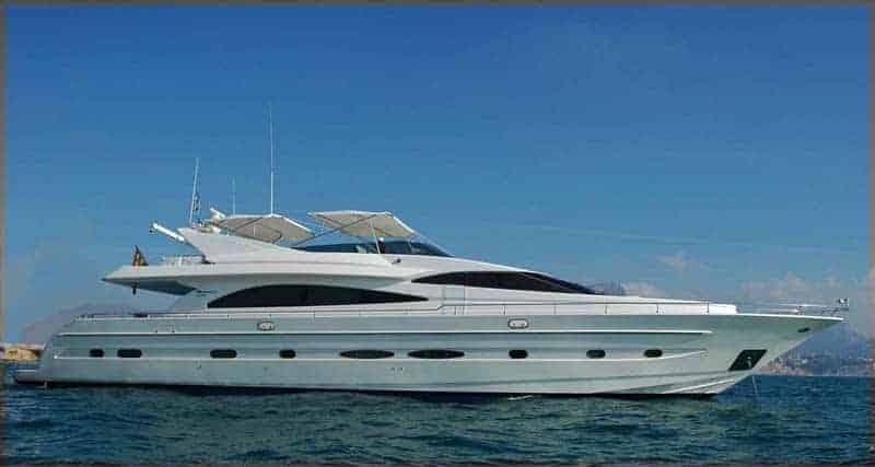 Astondoa 82 GLX Yachtfor hire in Ibiza