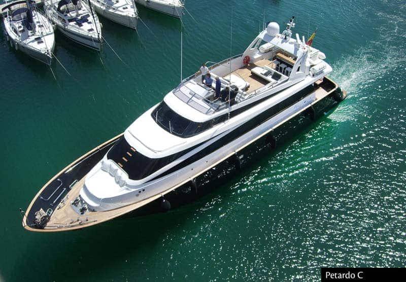 Mondomarine 84 Yachtfor hire in Ibiza
