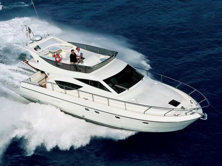 Ferretti 460for hire in Ibiza