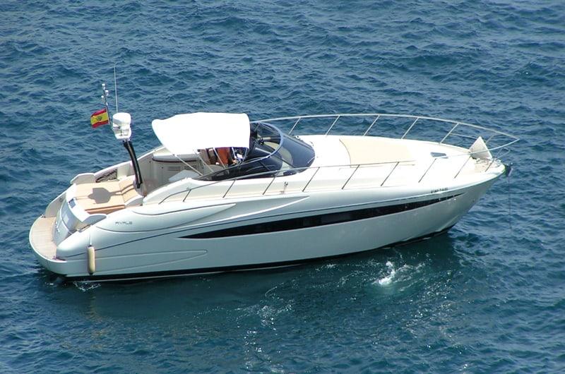 Riva 52 Rivalefor hire in Ibiza