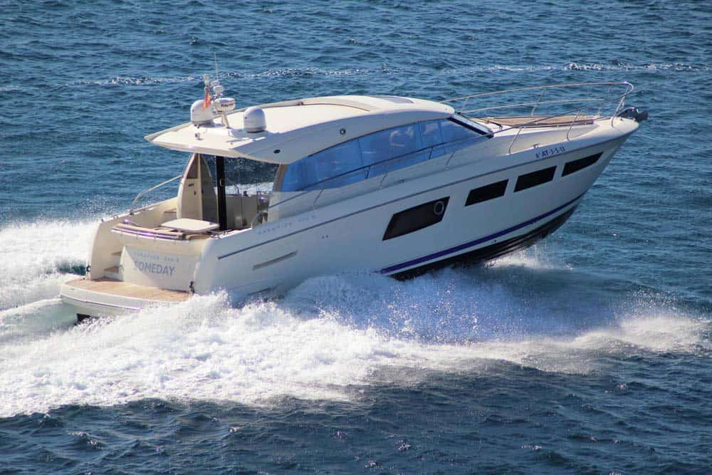 Prestige 500 Sfor hire in Ibiza