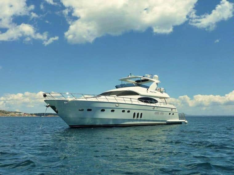 Vitech 80 Yachtfor hire in Ibiza