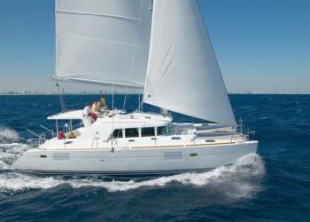 Lagoon 440 Catamaran for rent in Ibiza