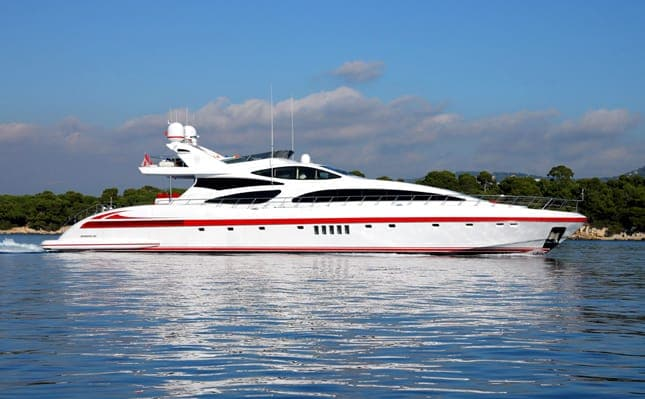 Mangusta 130 Fly for hire in Ibiza
