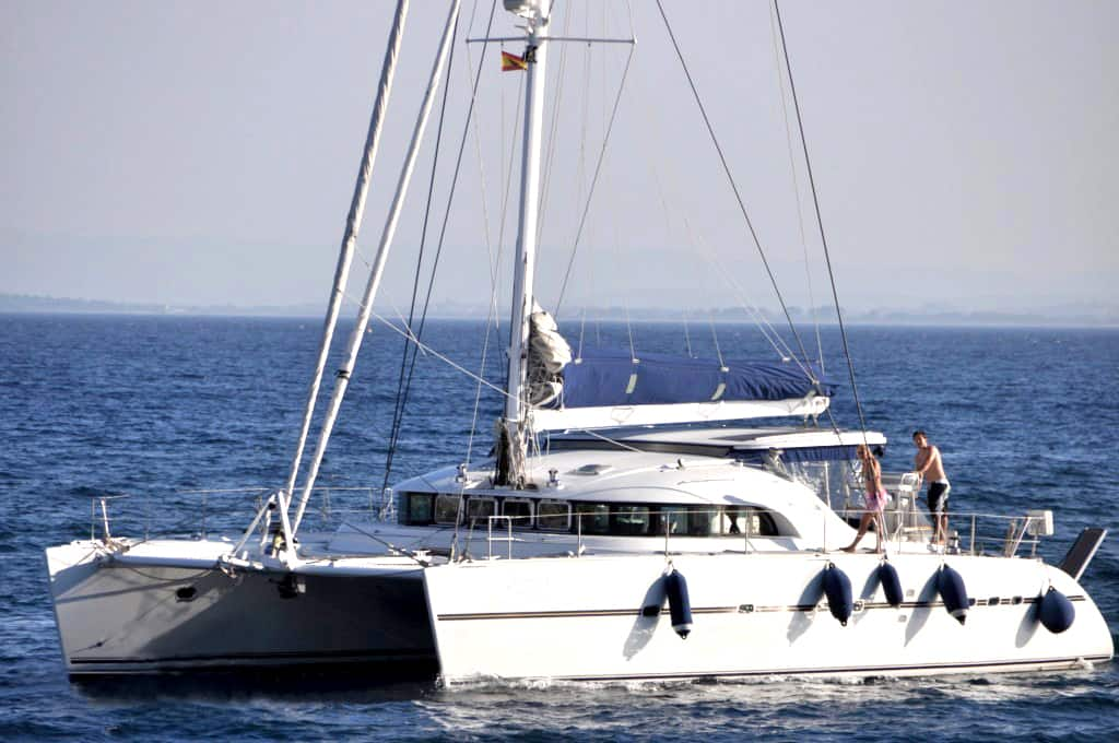 Lagoon 570 Catamaran for rent in Ibiza