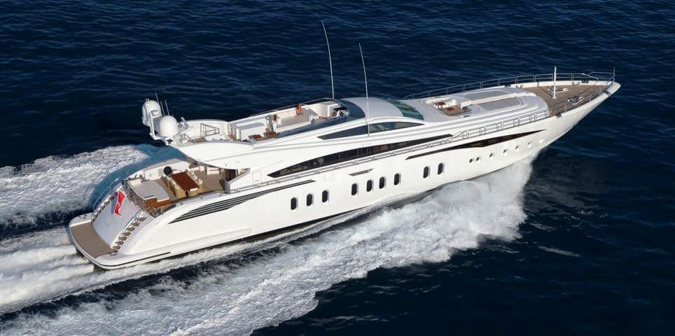"Leopard Yacht ""Lisa IV"" for hire in Ibiza"